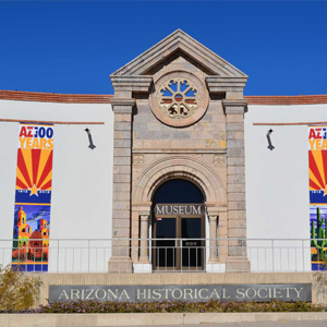 AZ histocial society museum entrance